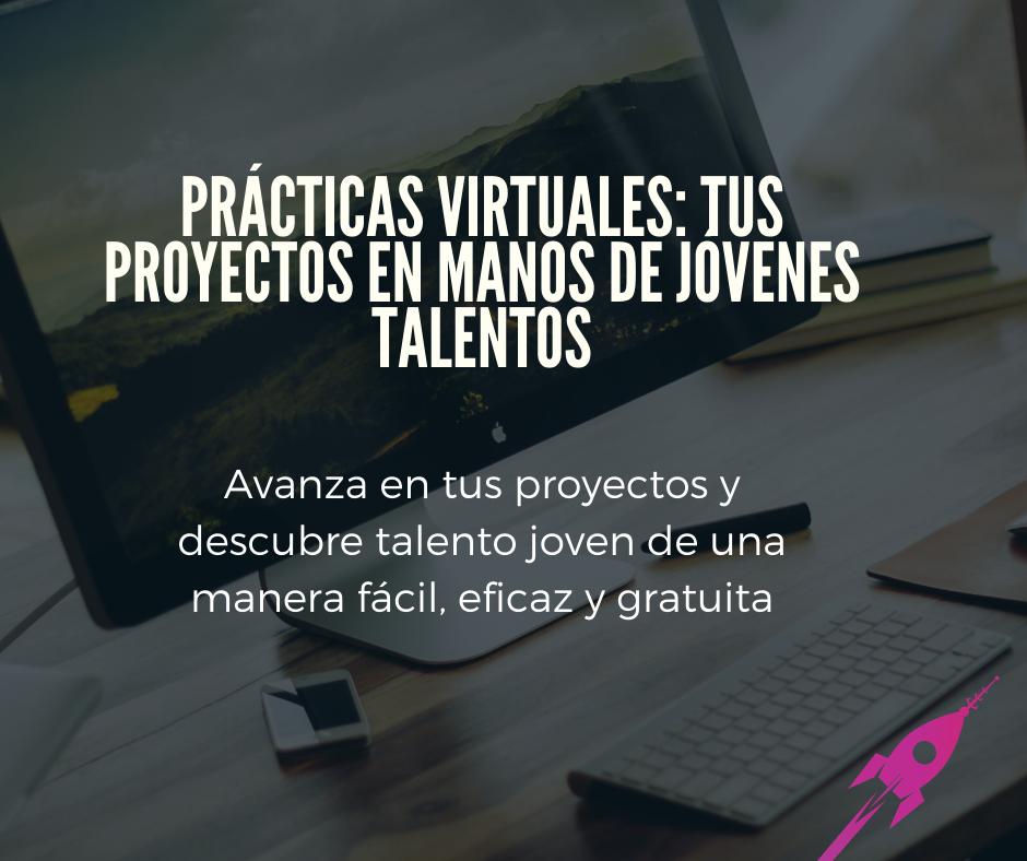 Estudiantes en busca de prácticas virtuales